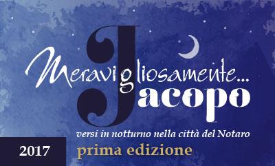 Meravigliosamente Jacopo Ed. 2017