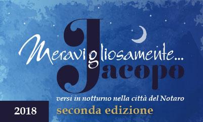 Meravigliosamente Jacopo Ed. 2018